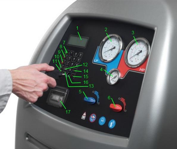 AC690PRO - функциональные кнопки и компоненты