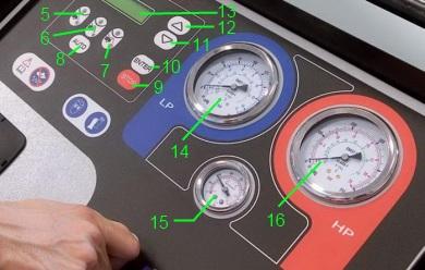 ACM3000 - панель управления
