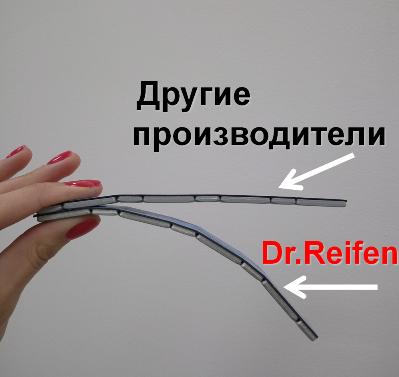 Сравнение грузиков стальных Dr.Reifen