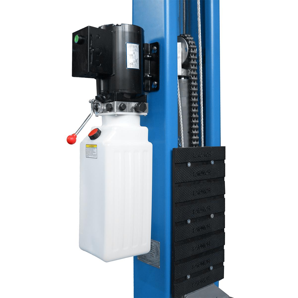 Резиновая накладка для защиты дверей подъёмника LAUNCH TLT- 240SCS L синий